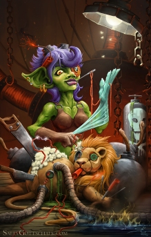 hearthstone deviantart challenge by sally gottschalk