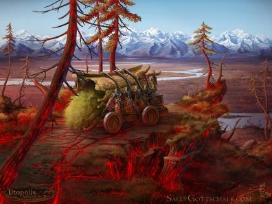 Reality Twist Utopolis Game Illustration by Sally Gottschalk