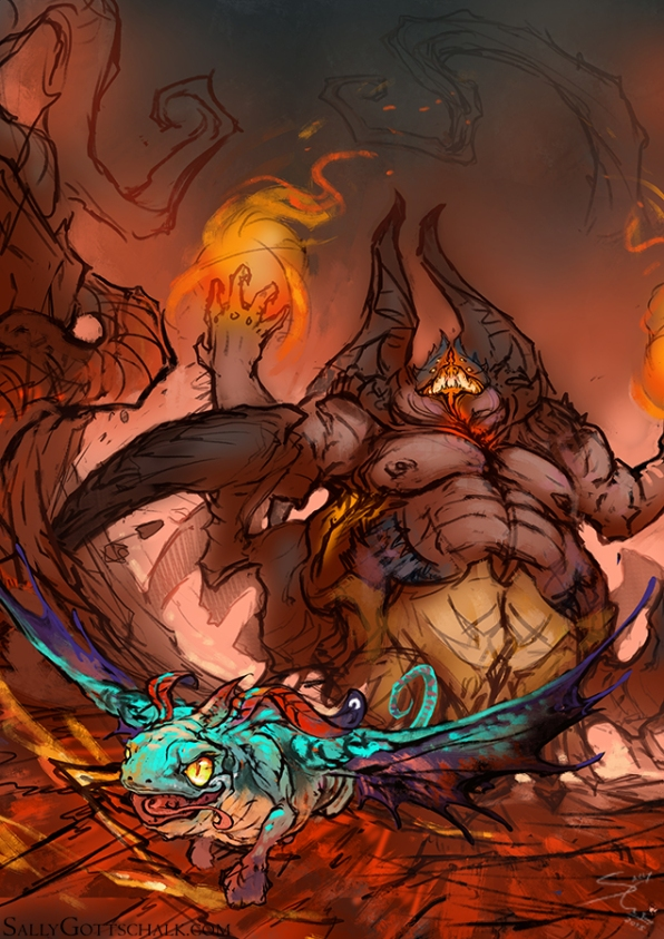 Azmodan Brightwing Blizzard DeviantArt Contest Heroes of the Storm