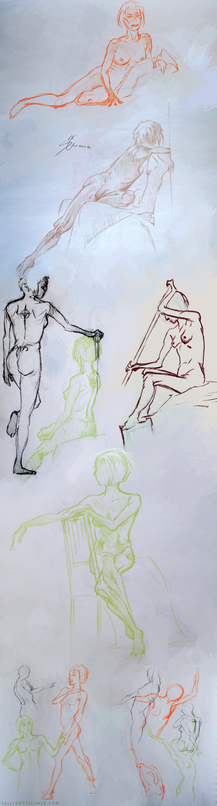 Sally Gottschalk Nigreda Life Drawing
