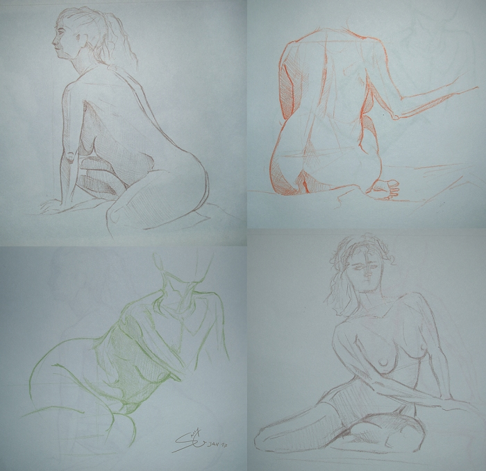 Life Drawing - Syn Studio