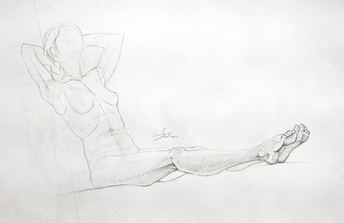 Life Drawing Syn Studio Sally Gottschalk Nigreda