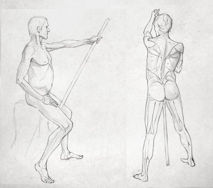 Life Drawing Syn Studio Sally Gottschalk Nigreda