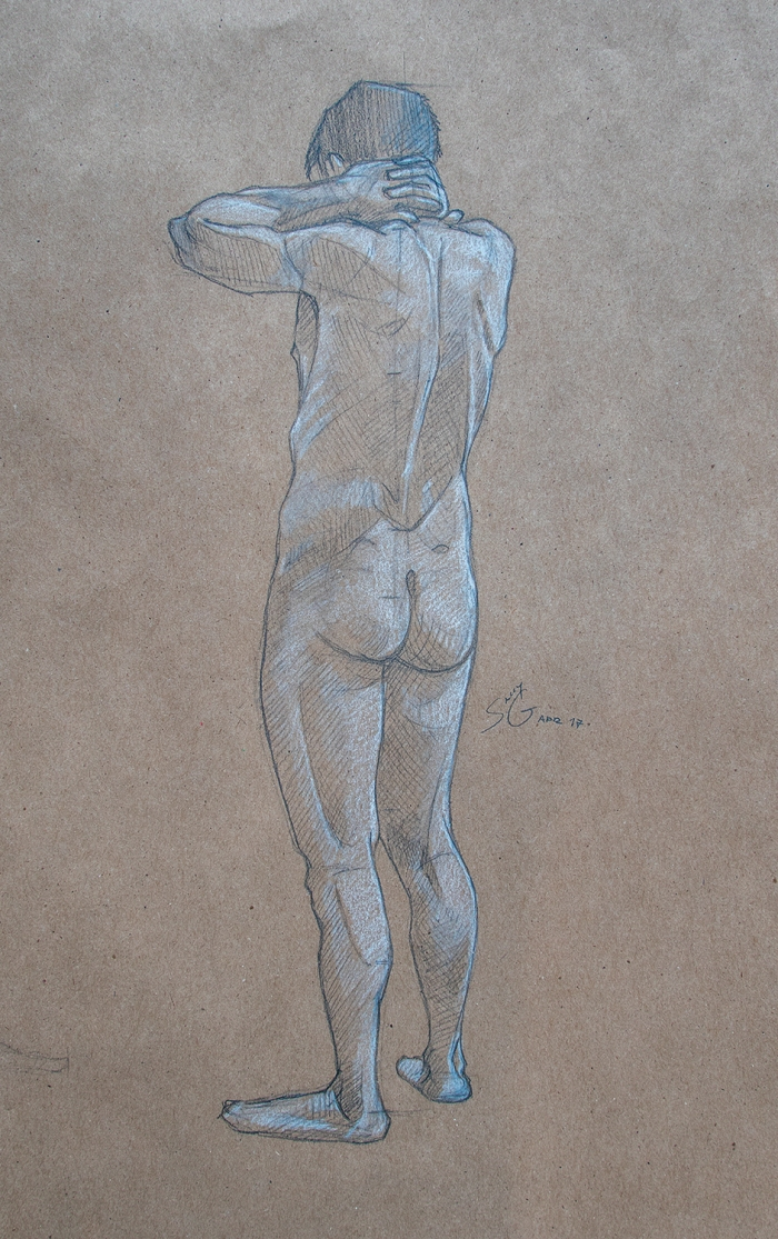 Live Drawing Anatomy Study Syn Studio Sally Gottschalk Nigreda