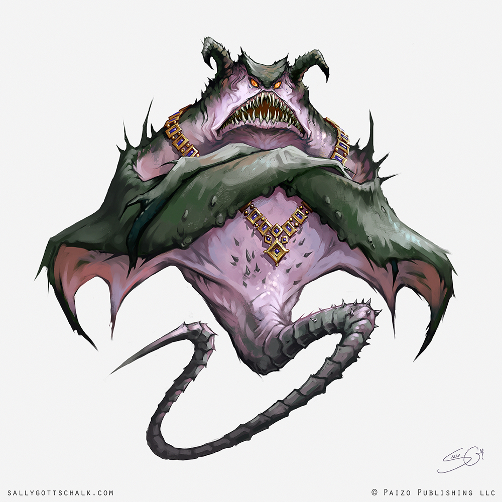 Fantasy Pathfinder Cradle of Night Cloaker