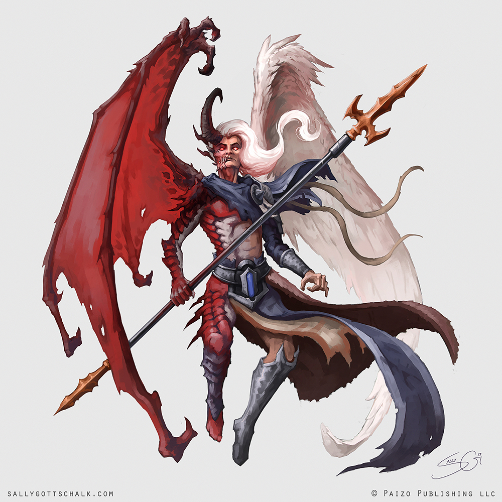 Fantasy Pathfinder Book of the Damned Belial
