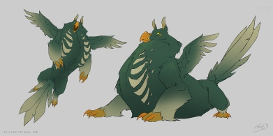 Creature Design Concept Art