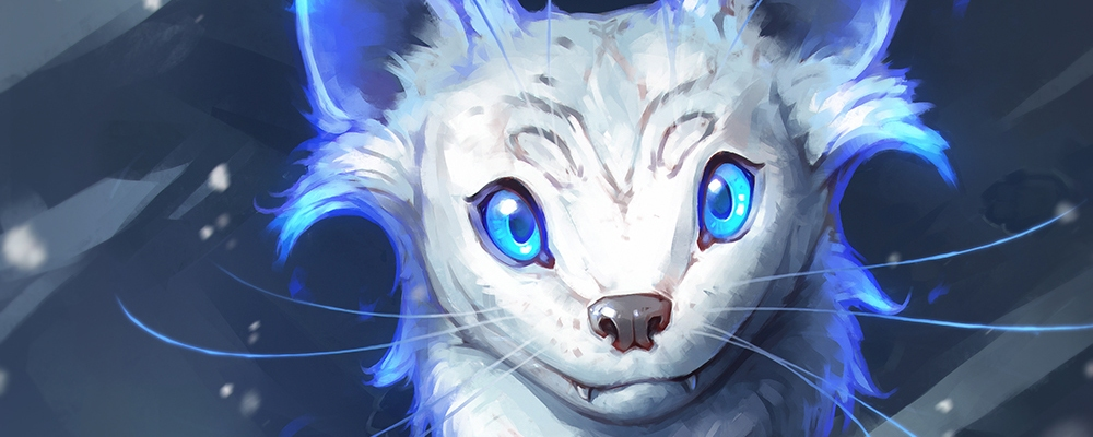Fantasy Creature Fire Ferret SallyGottschalk